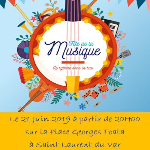 Affiche de la Fête de la Musique Laurentine de 2019