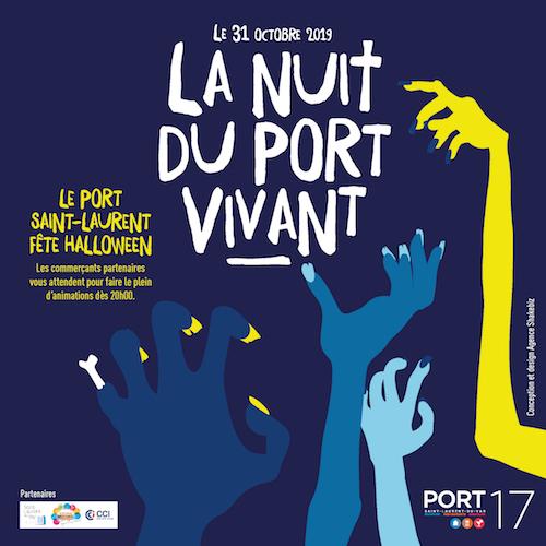 Affiche pour La nuit du Port Vivant