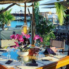 Terrasse du Restaurant Le Beach Club