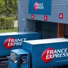 Camions de l'entreprise France Express