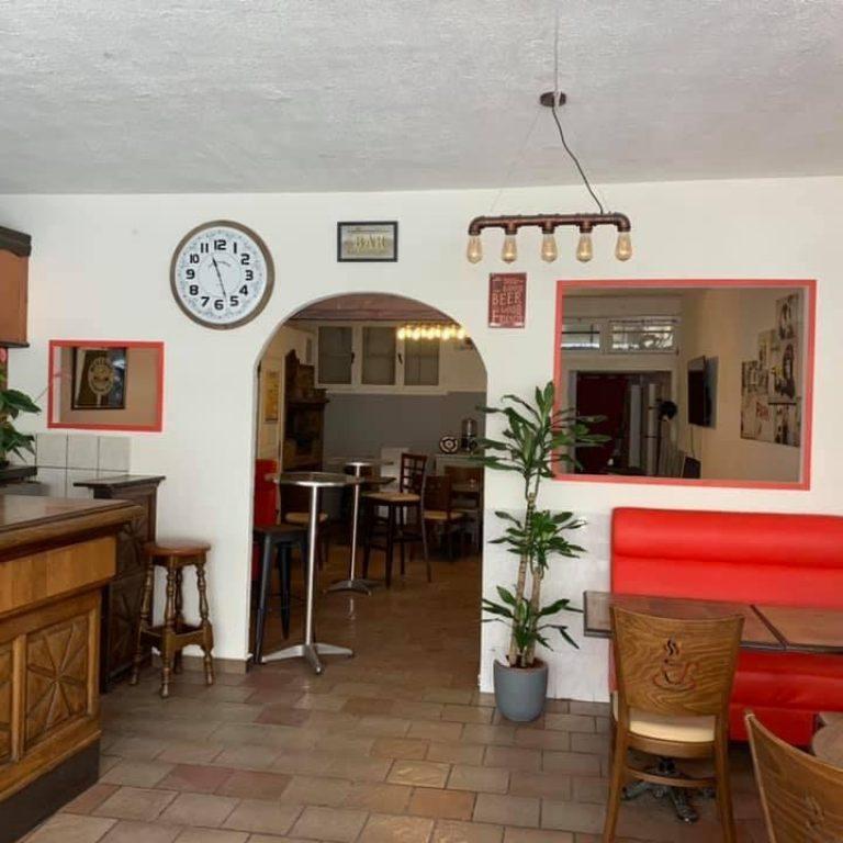 Intérieur du restaurant La romarine