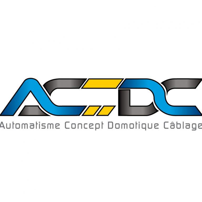 Logo d'ACDC Automatisme Concept Domotique Cablage