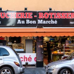 Enseigne Boucherie Rotisserie Au Bon Marché
