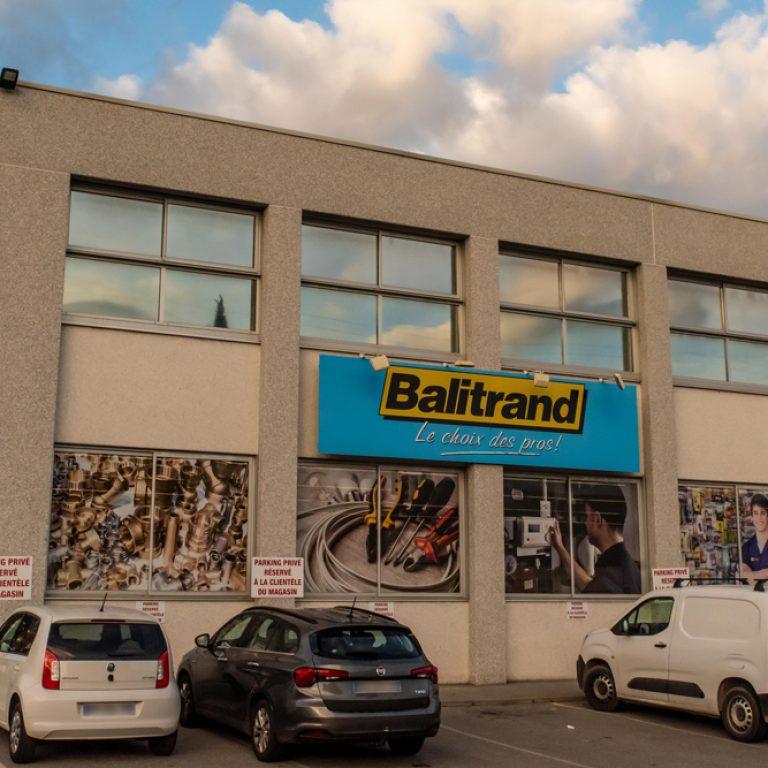 Extérieur du magasin Balitrand