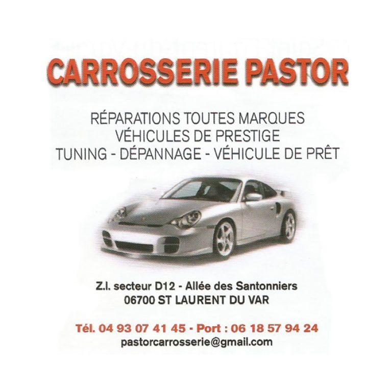 Affiche pour la Carrosserie Pastor de Saint Laurent du Var