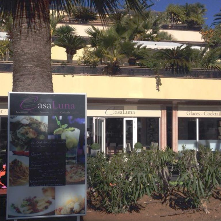 Extérieur du restaurant CasaLuna