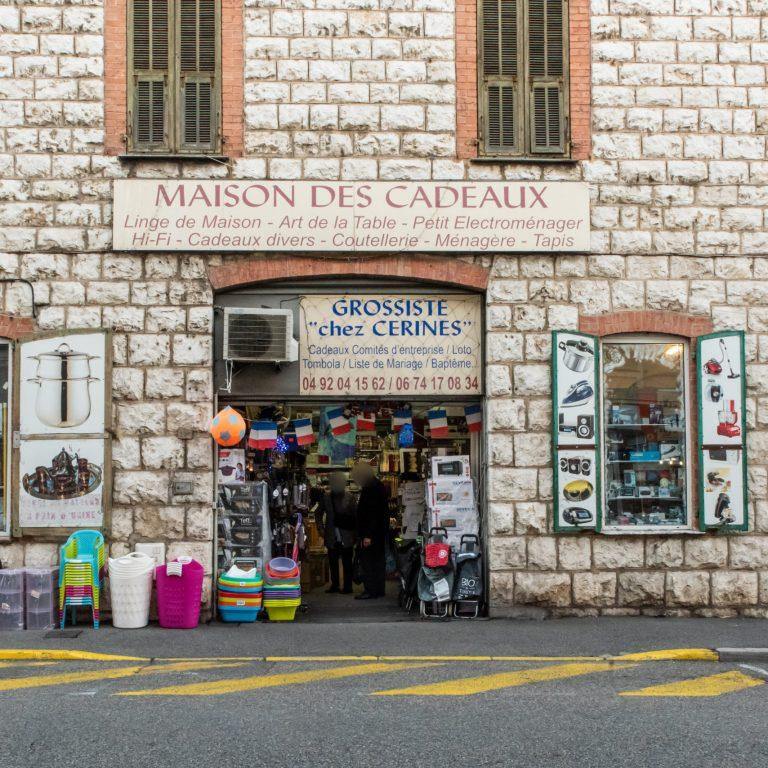 Devanture de la boutique Cerines
