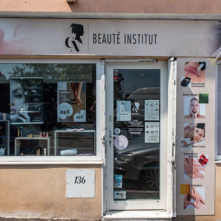 Enseigne CN Beauté Institut