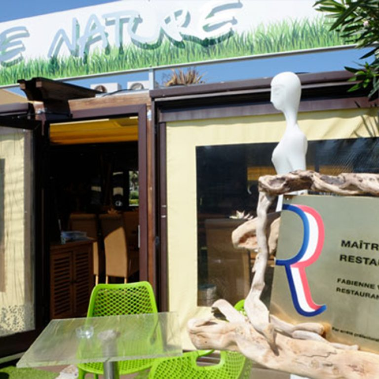 Entrée du restaurant Dame nature