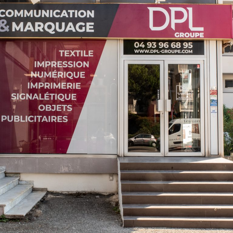 Entrée de l'entreprise DPL Groupe