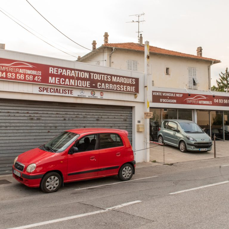 Enseigne garage Empereur Automobiles