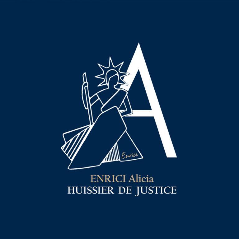 Logo du huissier de justice Enrici Alicia