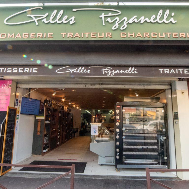 Devanture de la rotisserie traiteur Gilles Pizzanelli