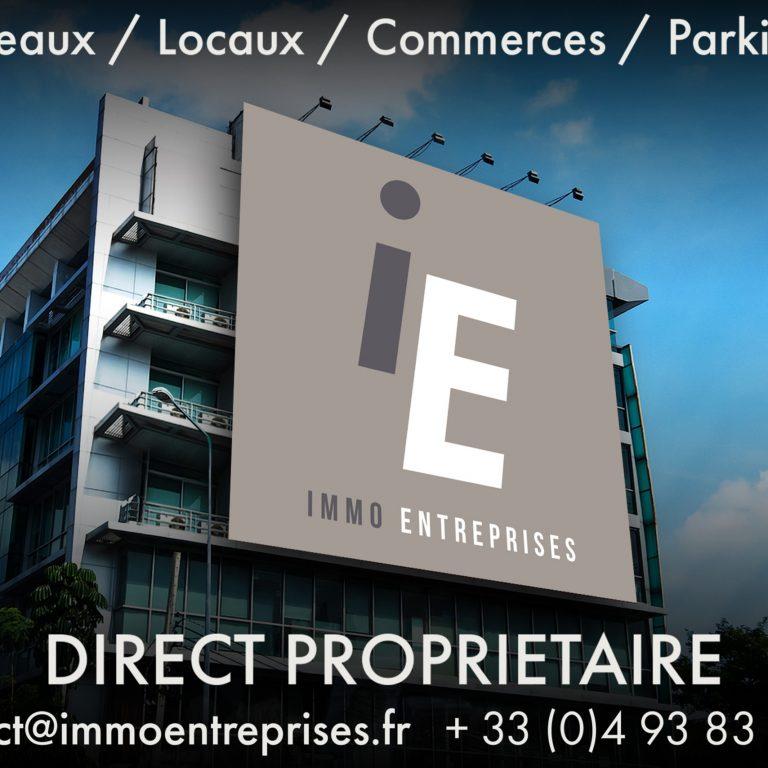 Affiche d'Immo Entreprise
