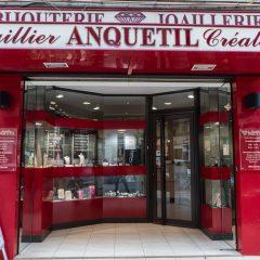 Devanture de la Joaillerie Anquetil