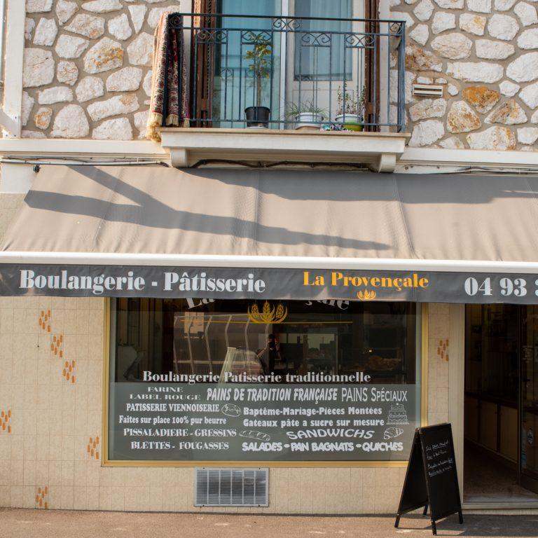 Devanture de La Provençale Boulangerie Patisserie