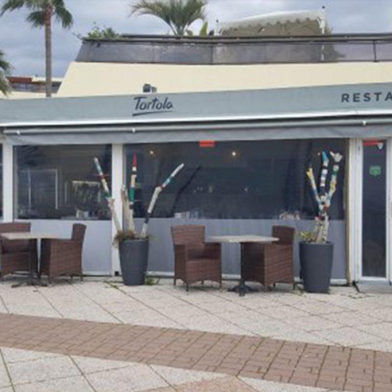 Terrasse du restaurant la Tortola