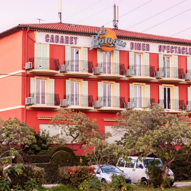 Facade du restaurant Le Baroque