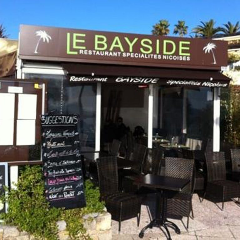 Entrée du restaurant Le BaySide