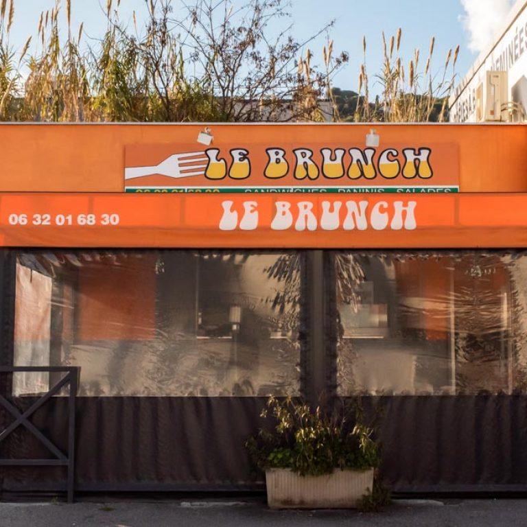 Devanture du restaurant Le Brunch