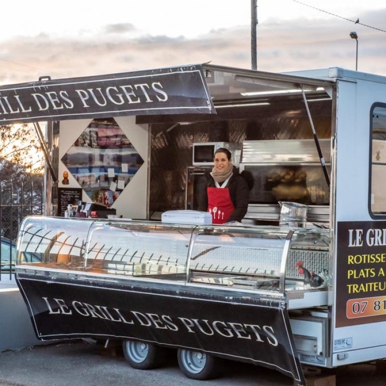 Food-truck Le Grill des pugets