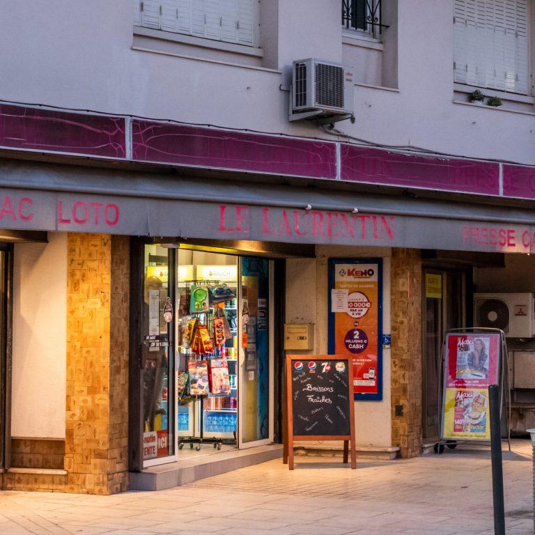 Tabac et bureau de presse Le Laurentin