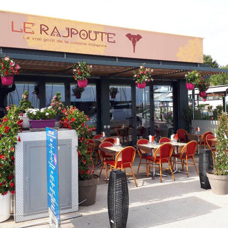 Terrasse du restaurant Le Rajpoute