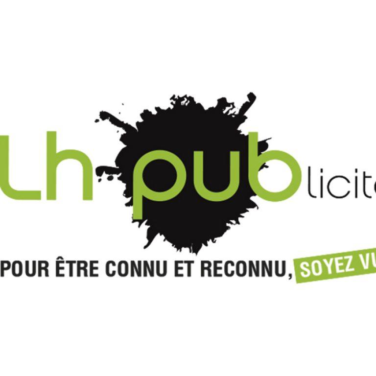 Logo de l'agence publicitaire LH Publicité