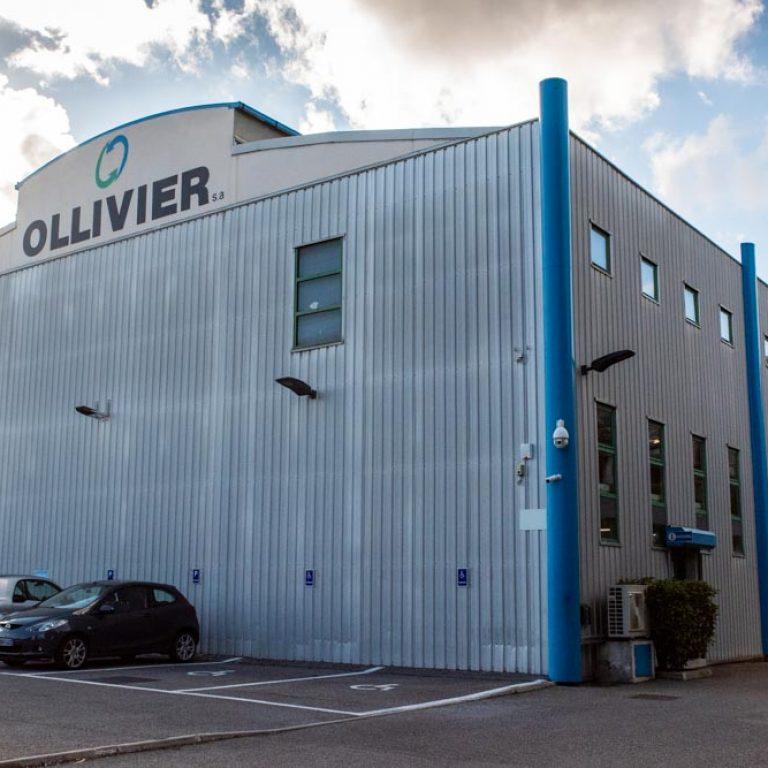 Extérieur des locaux de l'entreprise Ollivier SAS