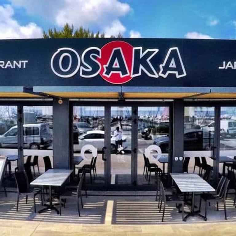Terrasse du restaurant Osaka