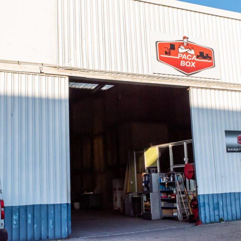Locaux et entrepôts de l'entreprise PACA Box