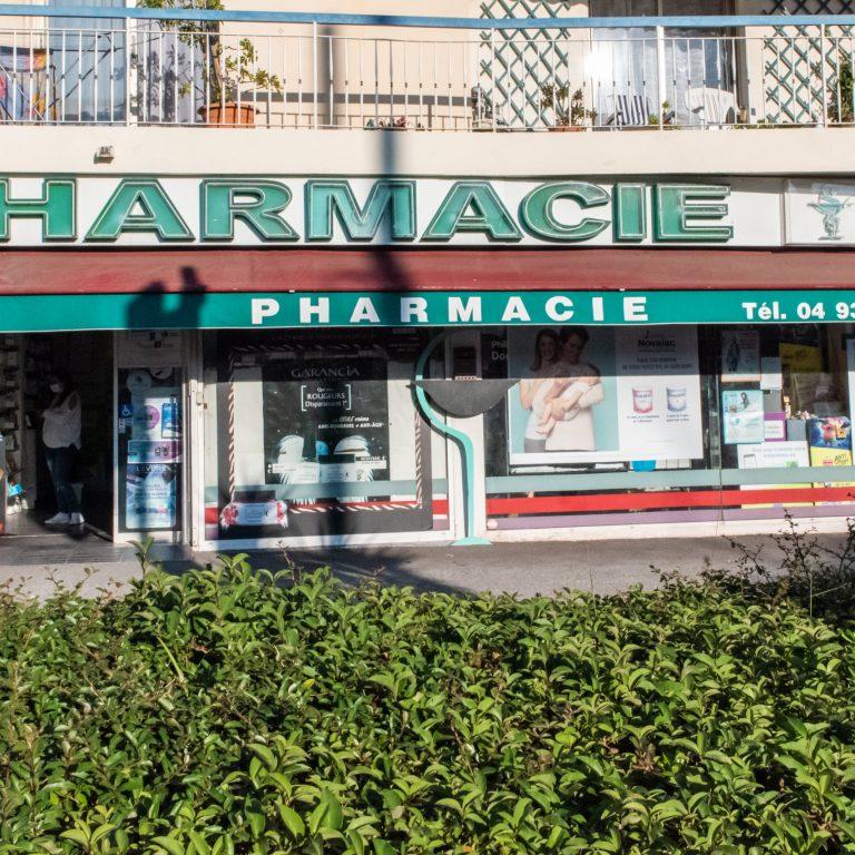 Extérieur Pharmacie Marchon