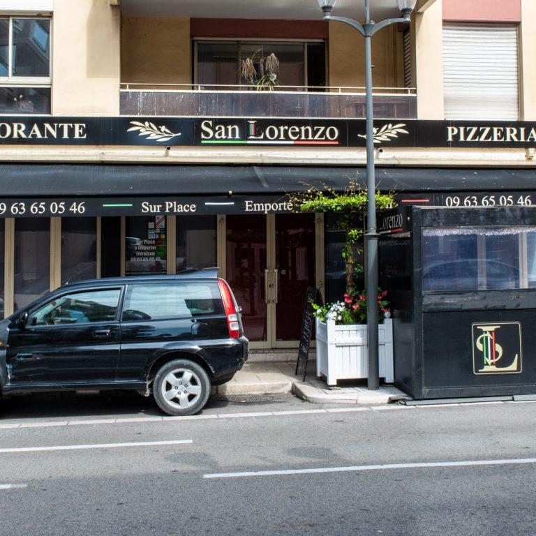 Terrasse du restaurant San Lorenzo
