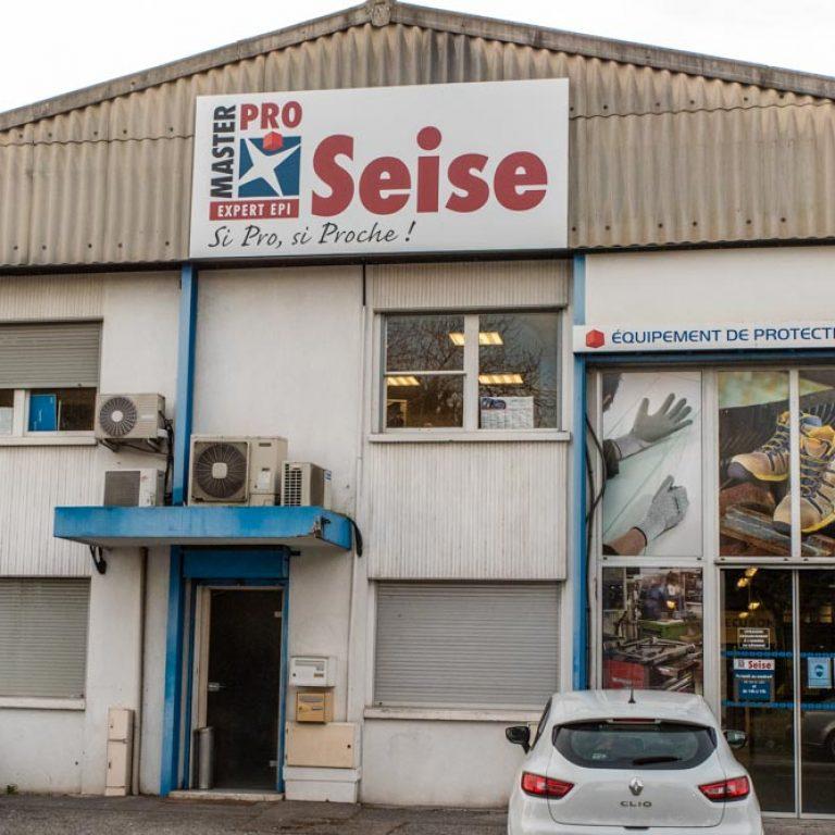 Entrée des locaux l'entreprise Seise