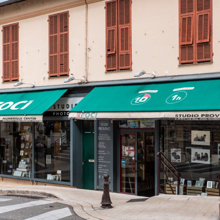 Devanture Studio Provence