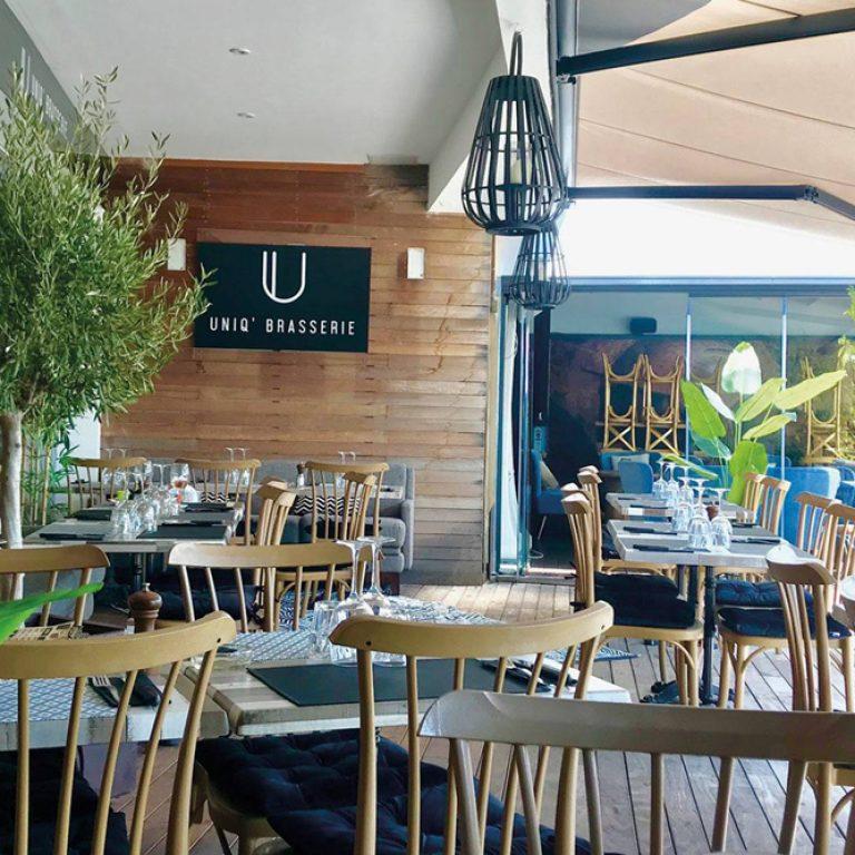 Terrasse du restaurant Uniq Brasserie