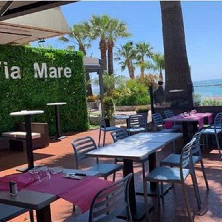 Terrasse du restaurant Via Mare