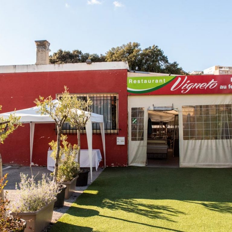 Terrasse du restaurant Vigneto